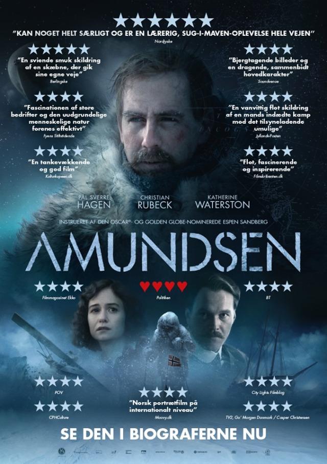 Resultado de imagem para amundsen Espen Sandberg poster